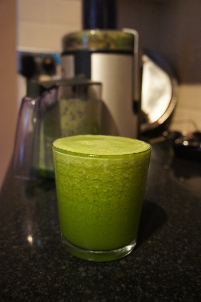 weight loss after pregnancy - how to juice