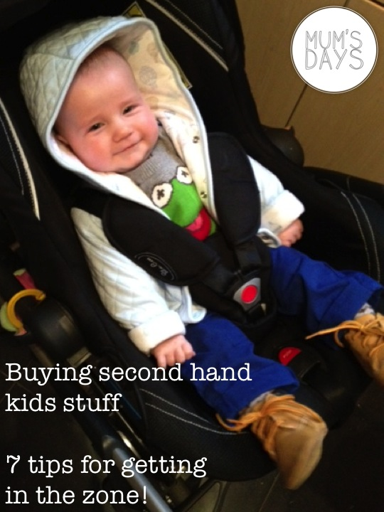 buying second hand kids stuff