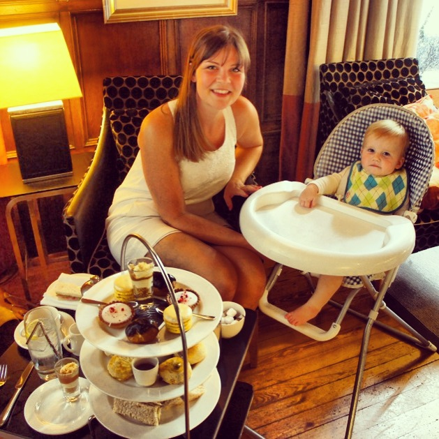 Afternoon tea at Jesmond Dene House