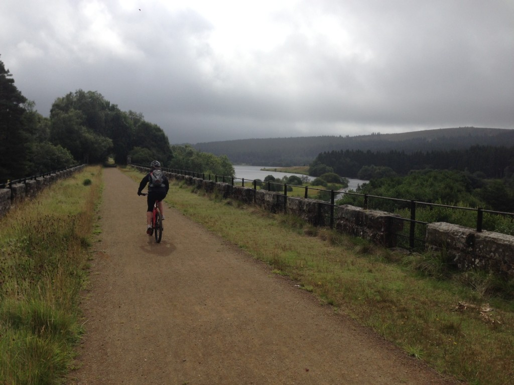 Kielder - On our way to the North Shore via the viaduct