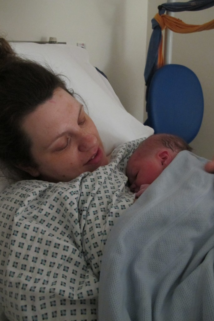 Giving birth in a midwife led unit