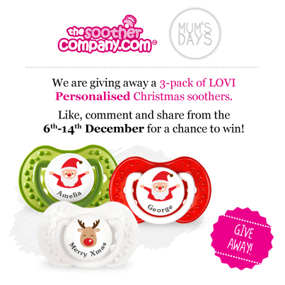 Soother Company and Mum's Days Facebook Giveaway