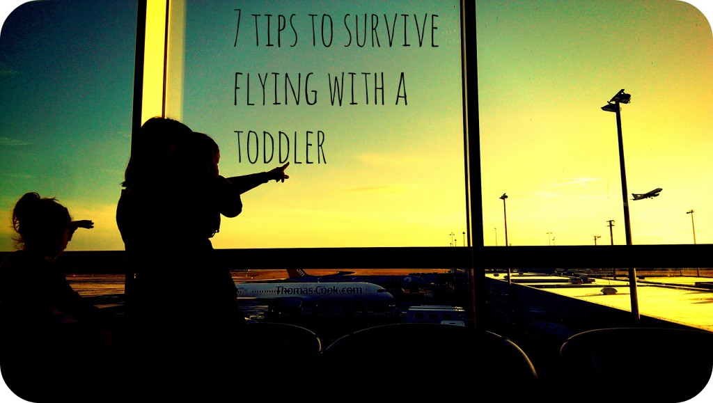 7 tips to survive flying with a toddler