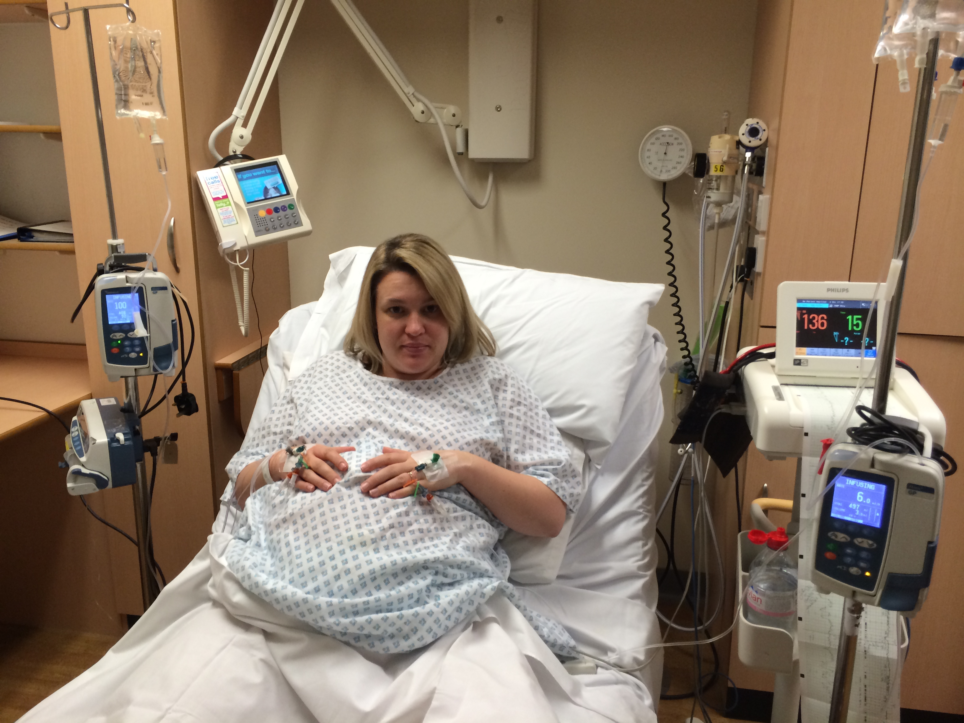 Sara's Birth story with Gestational Diabetes