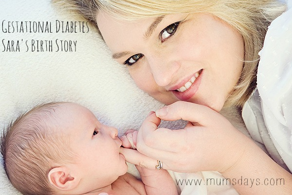 Sara's Birth Story with Gestational Diabetes #givingbirth