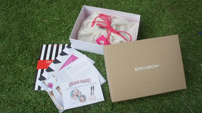 birchbox - what I got in my box March 2014