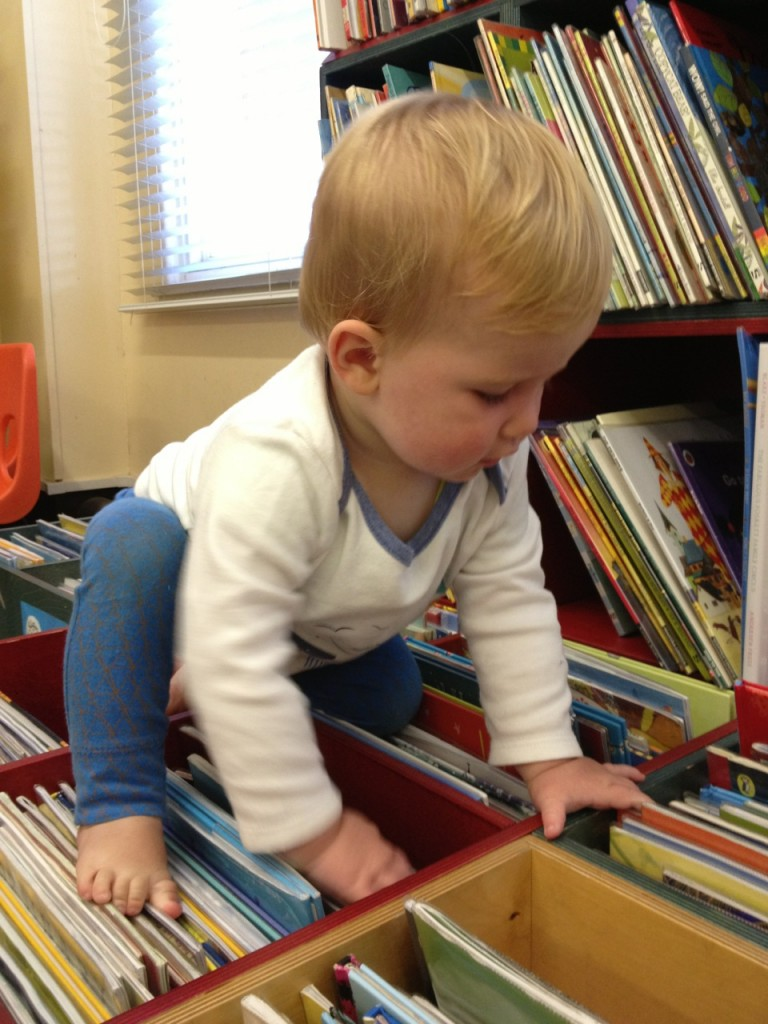 Stories for children - navigating the library