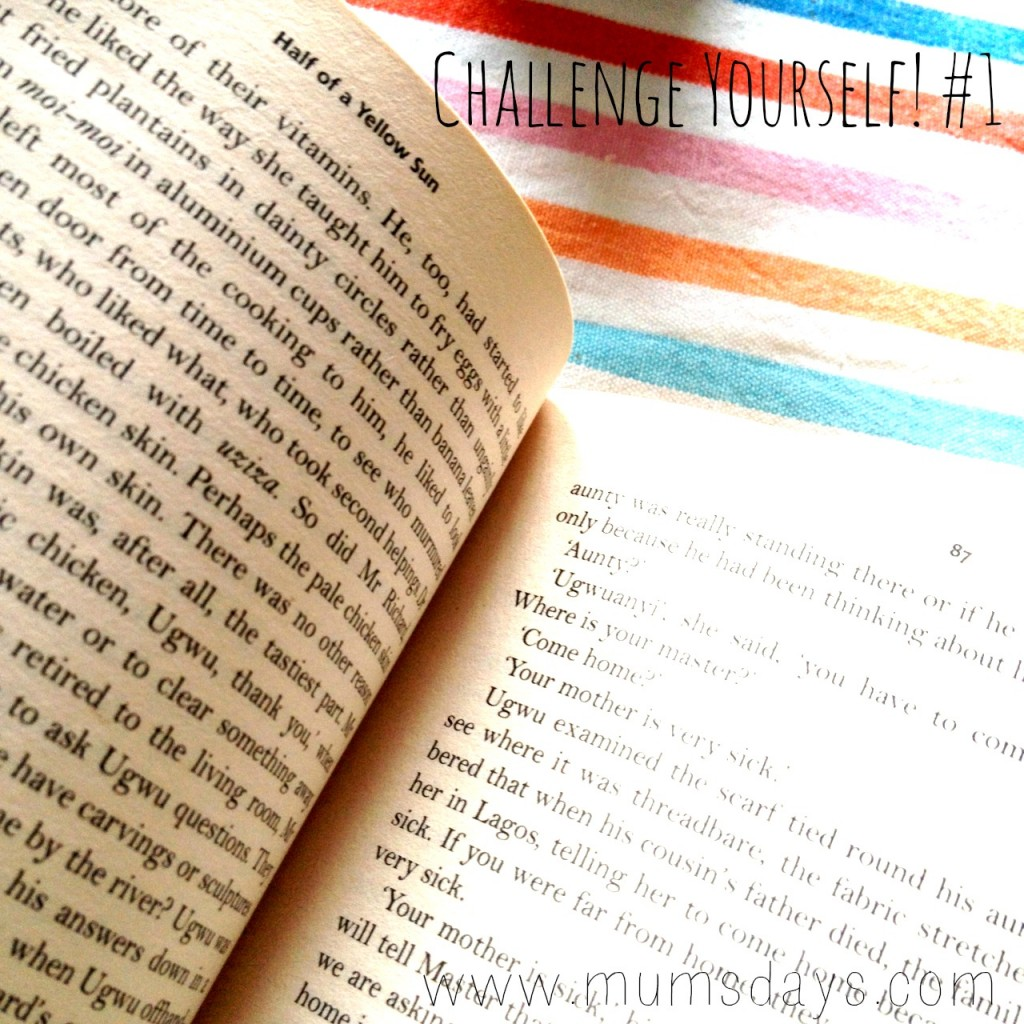 Challenge yourself - What will you do this month? #may #challenge http://www.mumsdays.com/challenge-yourself/