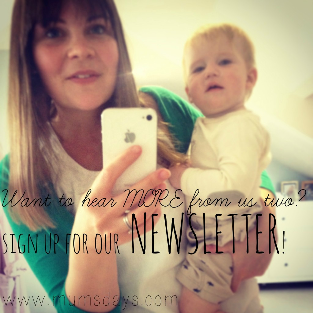 The Newsletter - Mums' Days newsletter is starting this month - May 2014 #newsletter