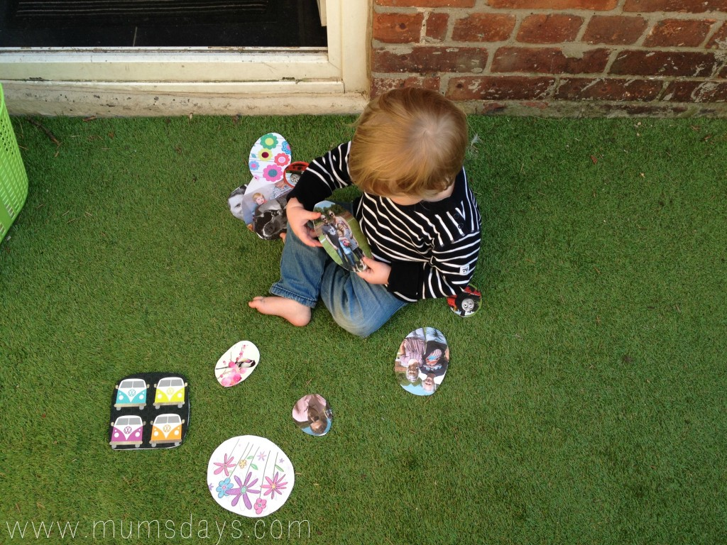 Toddler Easter Egg Hunt - Easter Activities