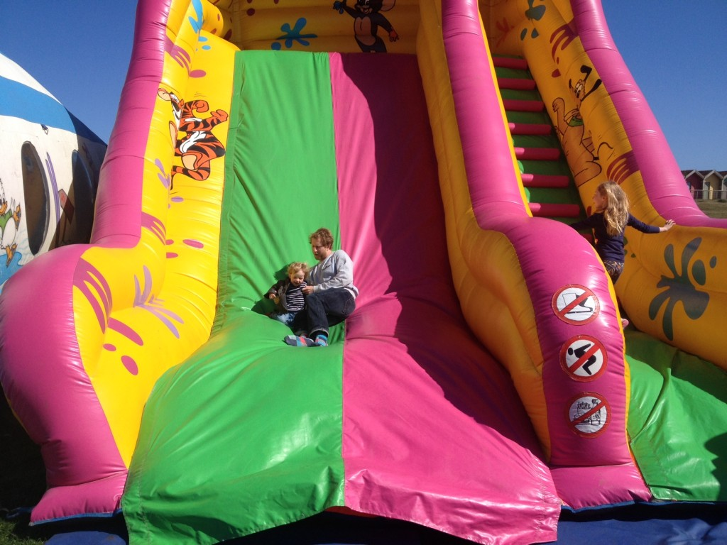 The bouncy slide