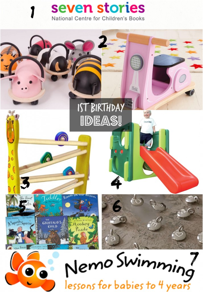 1st Birthday Ideas - Birthday wishes http://www.mumsdays.com/birthday-wishes-1st-birthday/ #1st #birthday #presents #giftideas