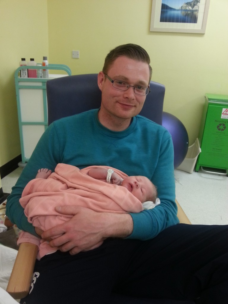 Ellen's Birth Story - not all first labours are long!