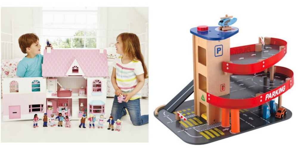 **Competition** UK only - win ELC wooden Toys worth £160! The Rosebud Country Doll's House and a Big City Gararge could be yours (ends 12th Dec 2014). Enter Here: http://www.mumsdays.com/wooden-toys-elc-day-5/