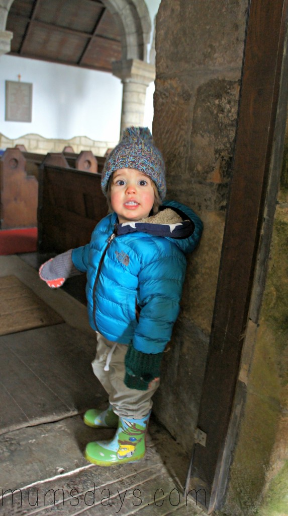 Edlingham Castle - Travel with a toddler. We're visiting all 45 of Northumberlands Castles and this week we have some fabulous photos of Edlingham Castle, owned by English Heritage, in the snow! http://www.mumsdays.com/edlingham-castle/