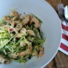 Prawn recipes - chilli prawn linguini recipe with super easy courgette linguini (or zucchini spaghetti!) - click here for full recipe and delicious photos!! http://www.mumsdays.com/prawn-recipes Paleo and gluten free!