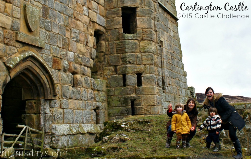 Cartington Castle - Travel with a toddler. We're visiting all 45 of the Northumberland Castles and this week we have some fabulous photos of Cartington Castle, in the snow!  http://www.mumsdays.com/cartington-castle/