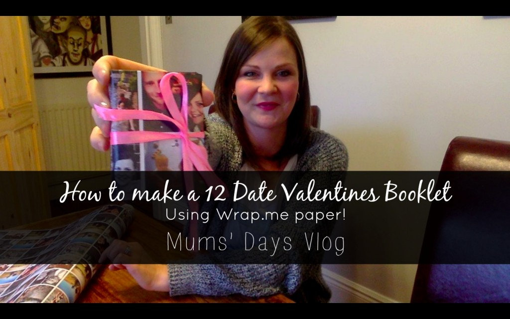 It's Valentines! How to make a 12 Date Valentines Gift Booklet - click here for great photos and a really simple tutorial: http://www.mumsdays.com/valentines-12-date-gift/