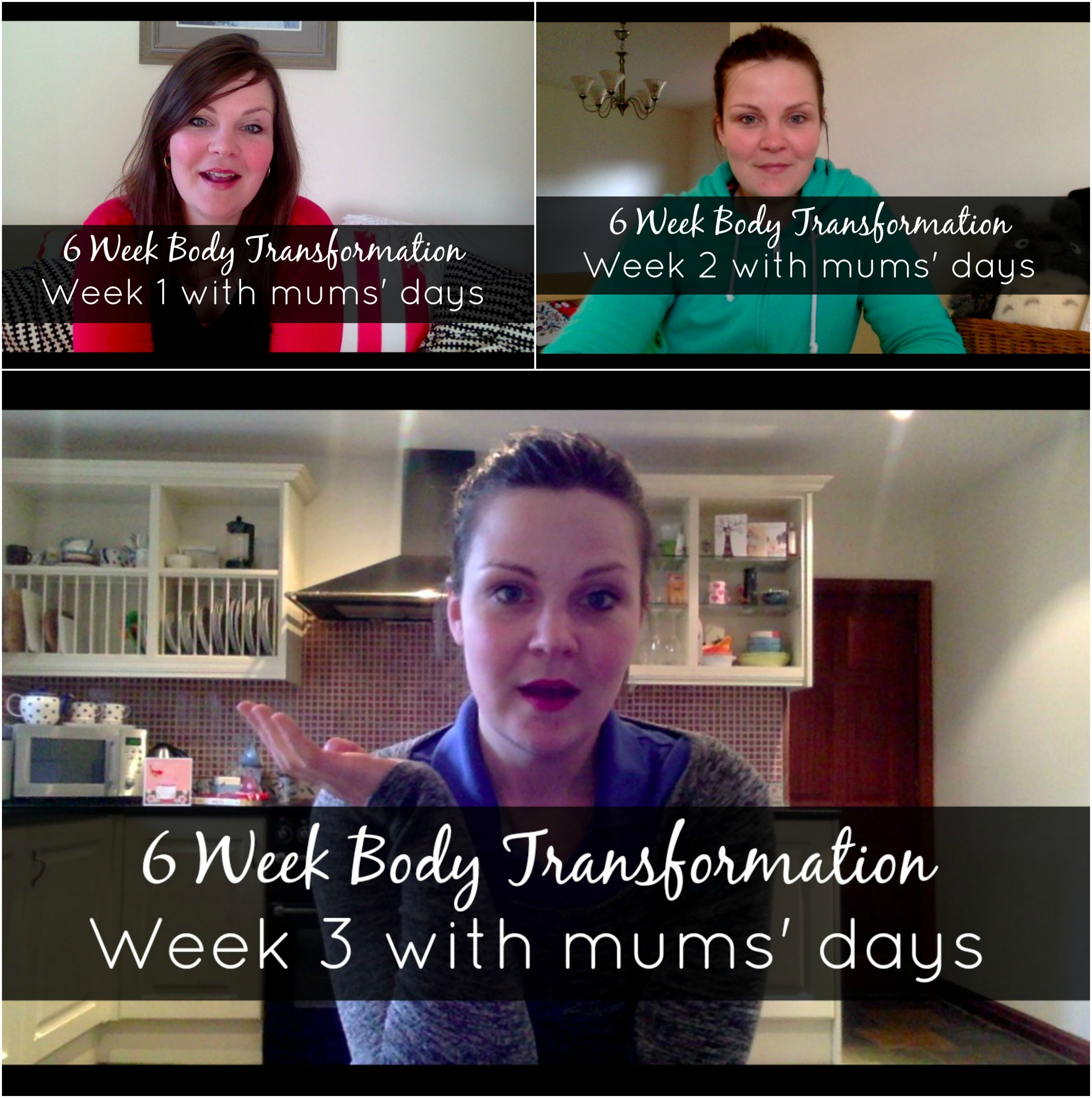 6 week body transformation - click here for weeks 1, 2 and 3 video diary with Mums' Days: http://www.mumsdays.com/6-week-body-transformation/