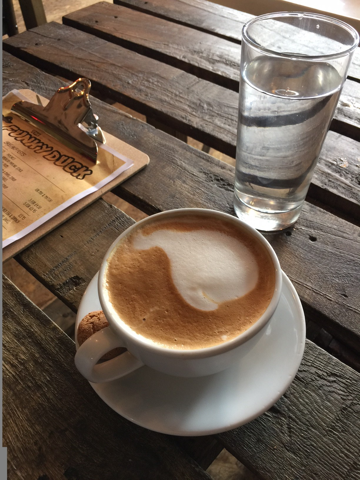 First Cappuccino - celebrations and The List 32