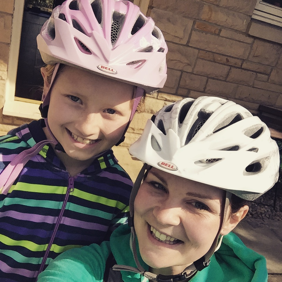 sunshine and Family Fitness - The List 33 - going for a bike ride!
