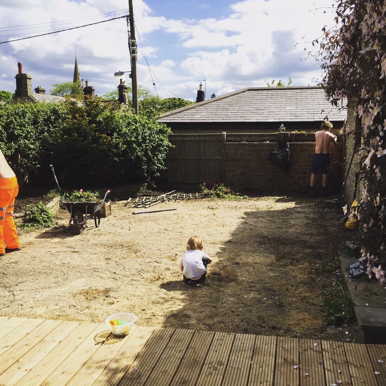 Doing up the garden - The List 40 - Birthday Week