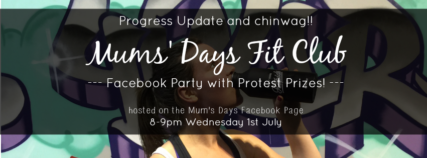 Accountability? Are you reaching your goals? Find out how to and join the next Mums' Days Fit Club Facebook Party