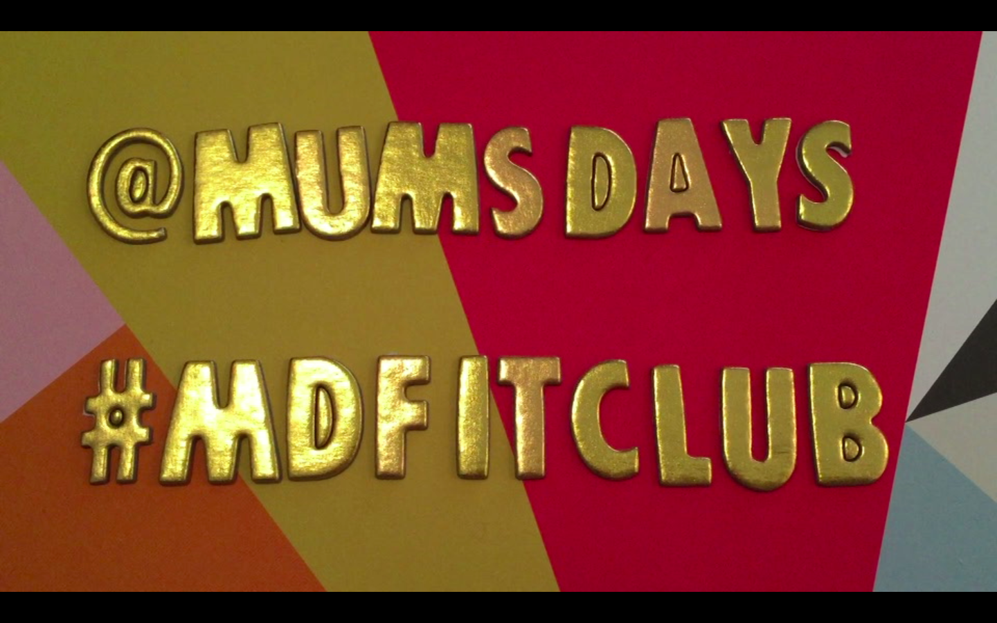 Mums' Days Fit Club and Accountability