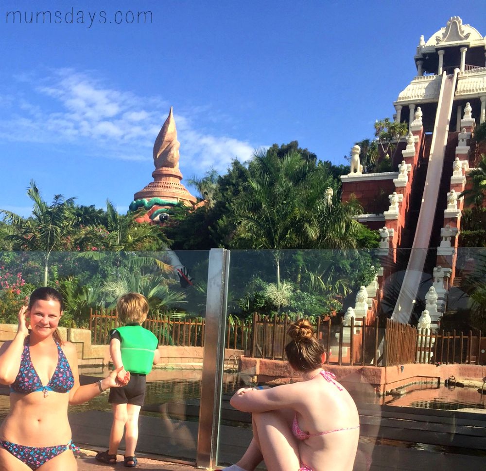 Tenerife - our summer holiday to Holiday Village - Siam Park