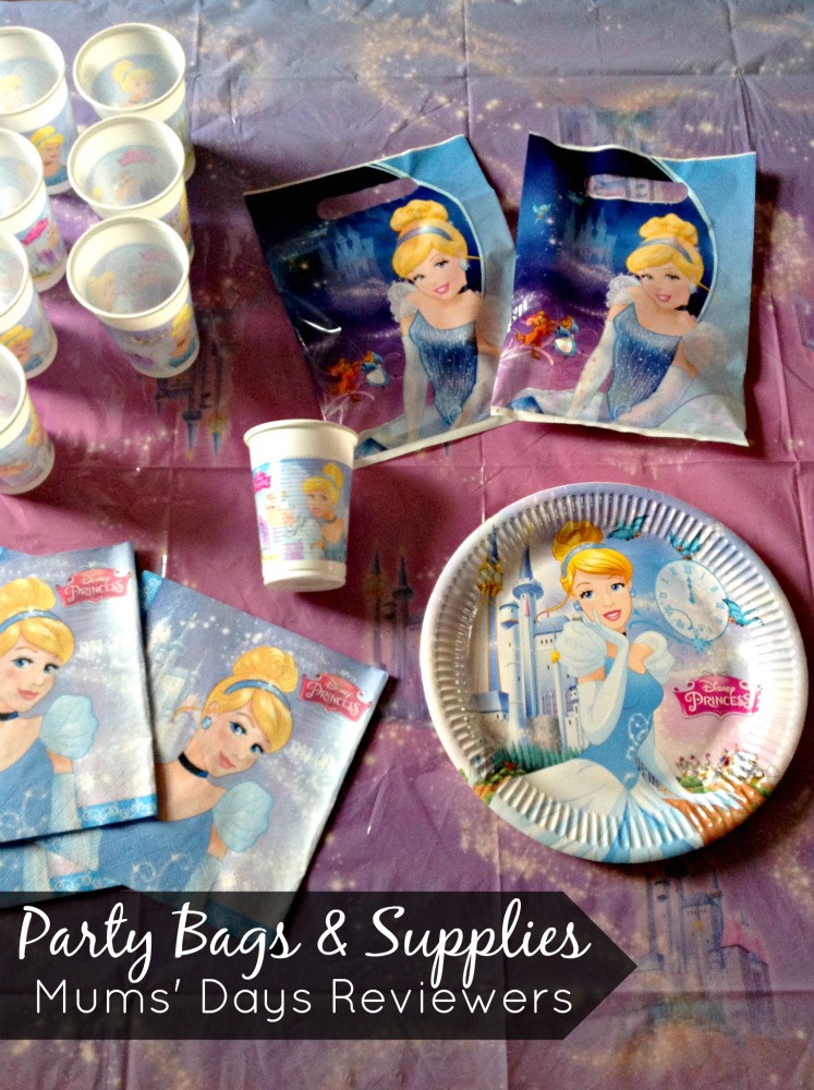 Party Bags & Supplies - Party Pack review. Mums' Days Reviewers