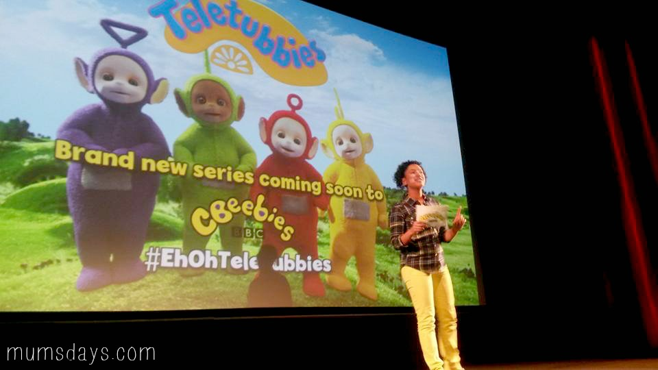 Teletubbies World Premiere - Mums' Days Reviewers of new CBeebies show