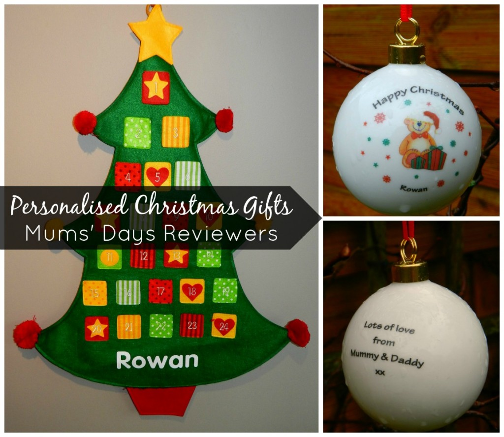 I just love it personalised Christmas gifts
