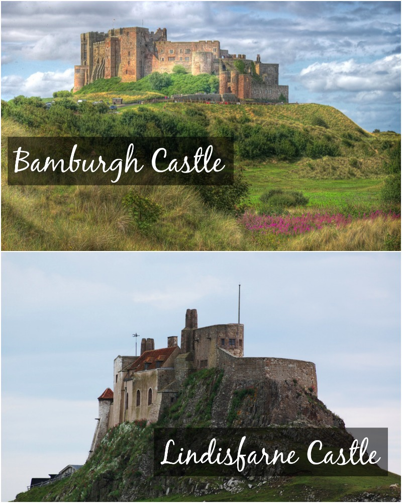 Lindisfarne and Bamburgh Castles