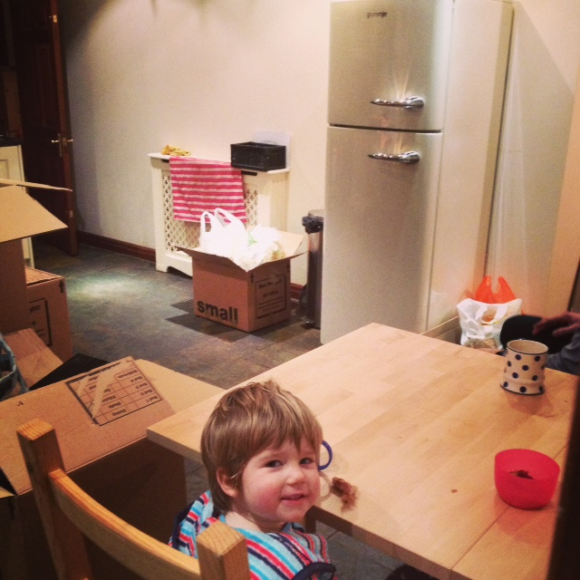 Top 5 parenthood highlights - moving house and starting Pre-school
