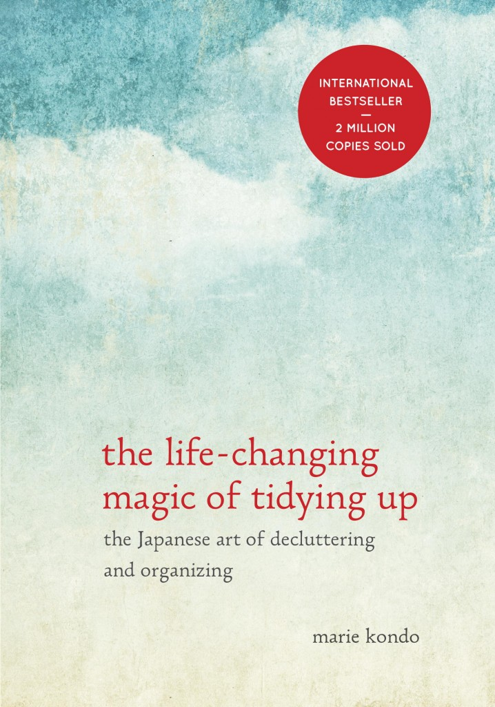 Best Books - my top 5 from 2015, the life changing magic of tidying, Marie Kondo