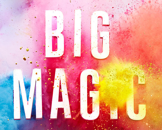 Best Books - my top 5 from 2015, Big Magic by Elizabeth Gilbert