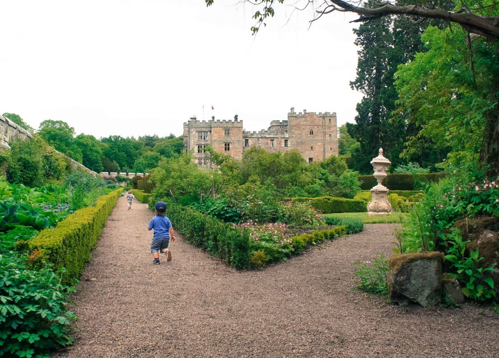 Chillingham Castle. The Castle Challenge - the year we saw all 40 of the Northumberland Castles