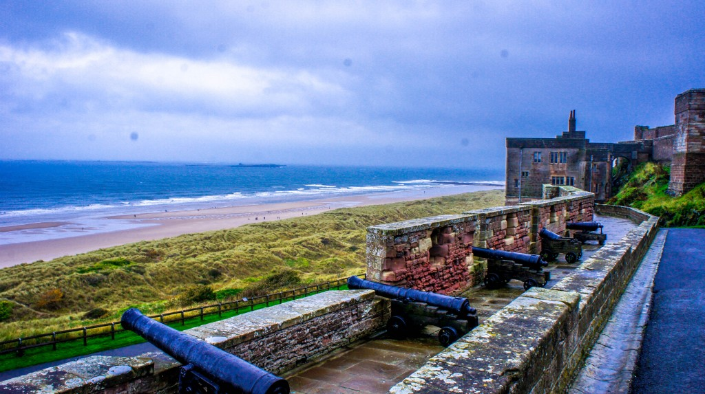 Bamburgh Castle. The Castle Challenge - the year we saw all 40 of the Northumberland Castles