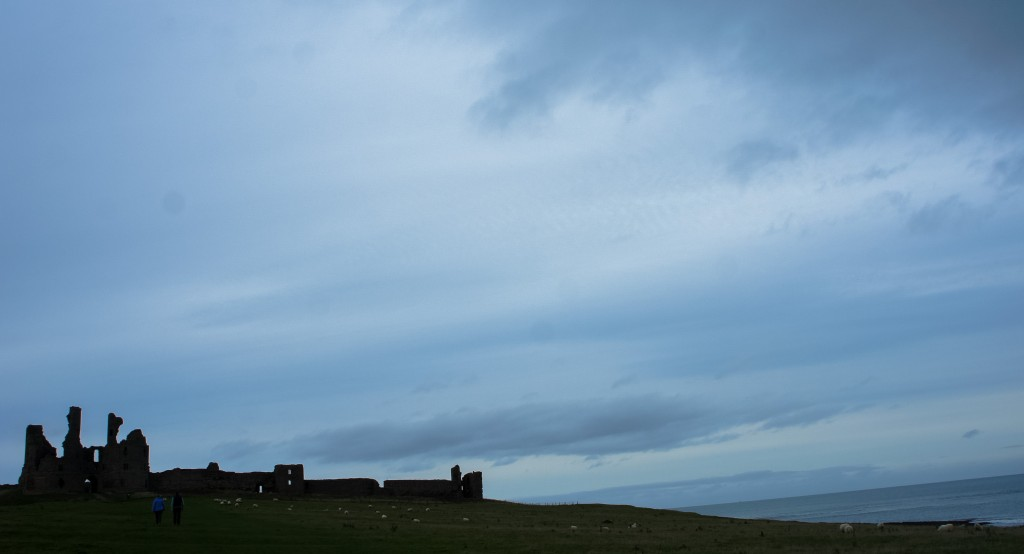 Dunstanburgh Castle. The Castle Challenge - the year we saw all 40 of the Northumberland Castles