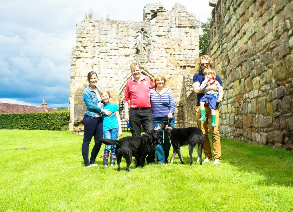 Etal Castle. The Castle Challenge - the year we saw all 40 of the Northumberland Castles