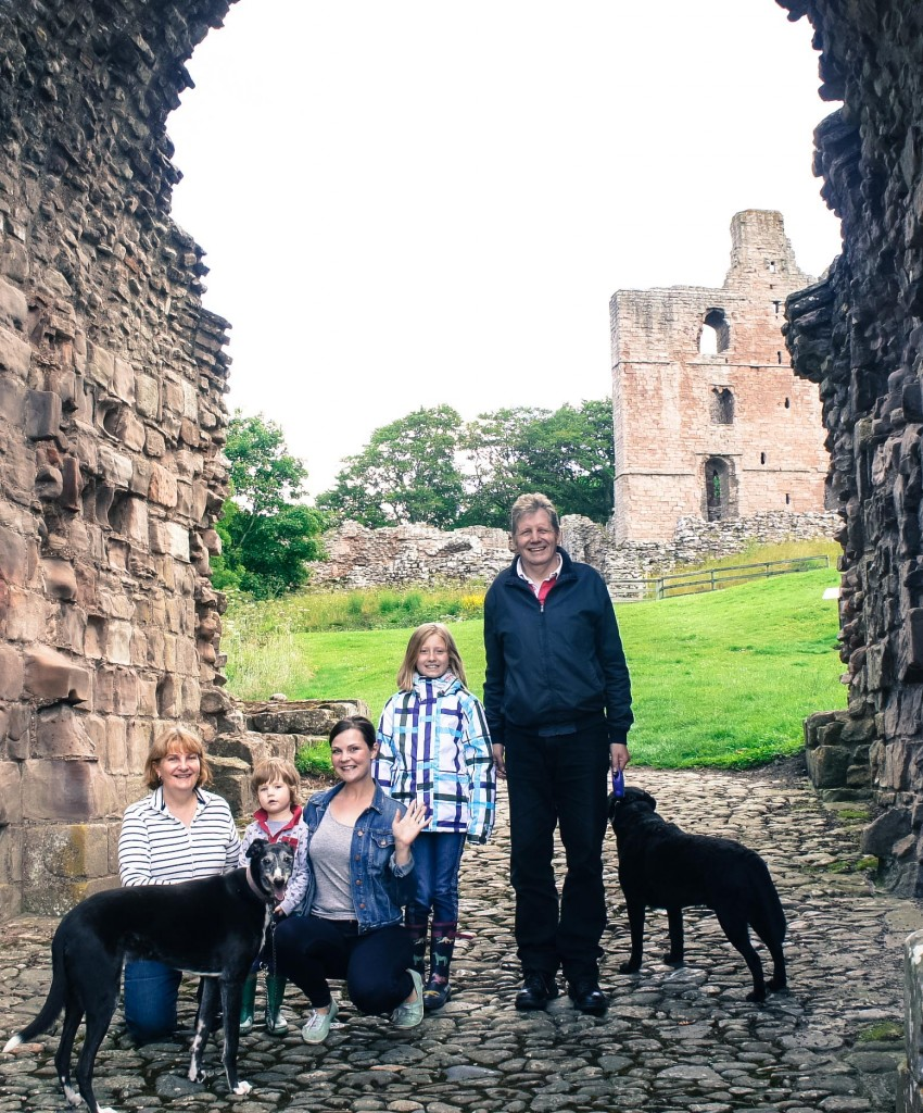 Norham Castle. The Castle Challenge - the year we saw all 40 of the Northumberland Castles
