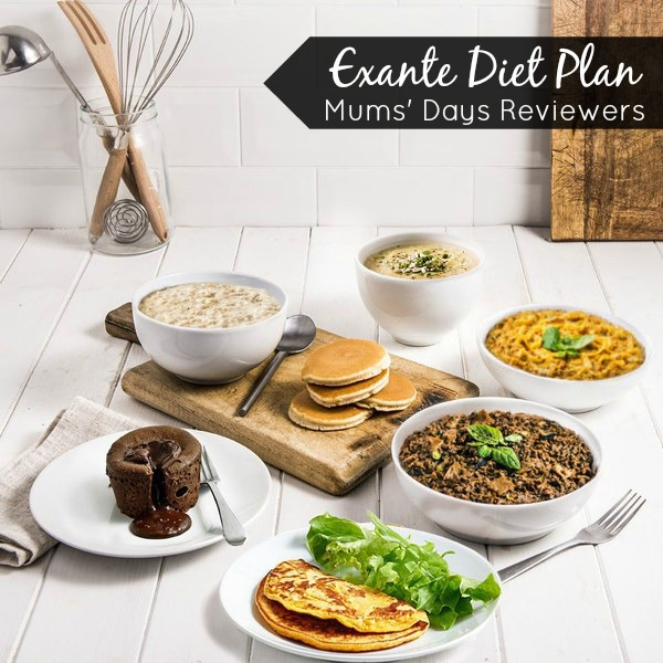 Exante Diet Plan Review - Mums' Days Reviewers - See what mum, Becca, thought of her 2 week trial