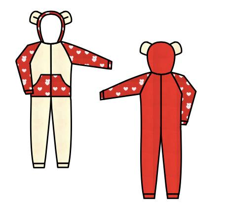 All in One company - my onesie design