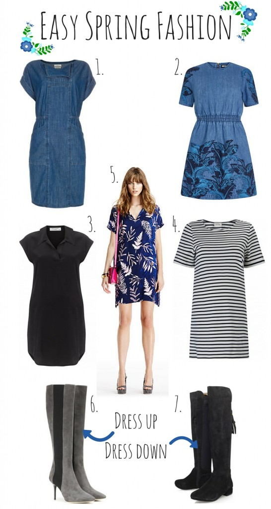 Easy Spring Fashion to dress up and down!