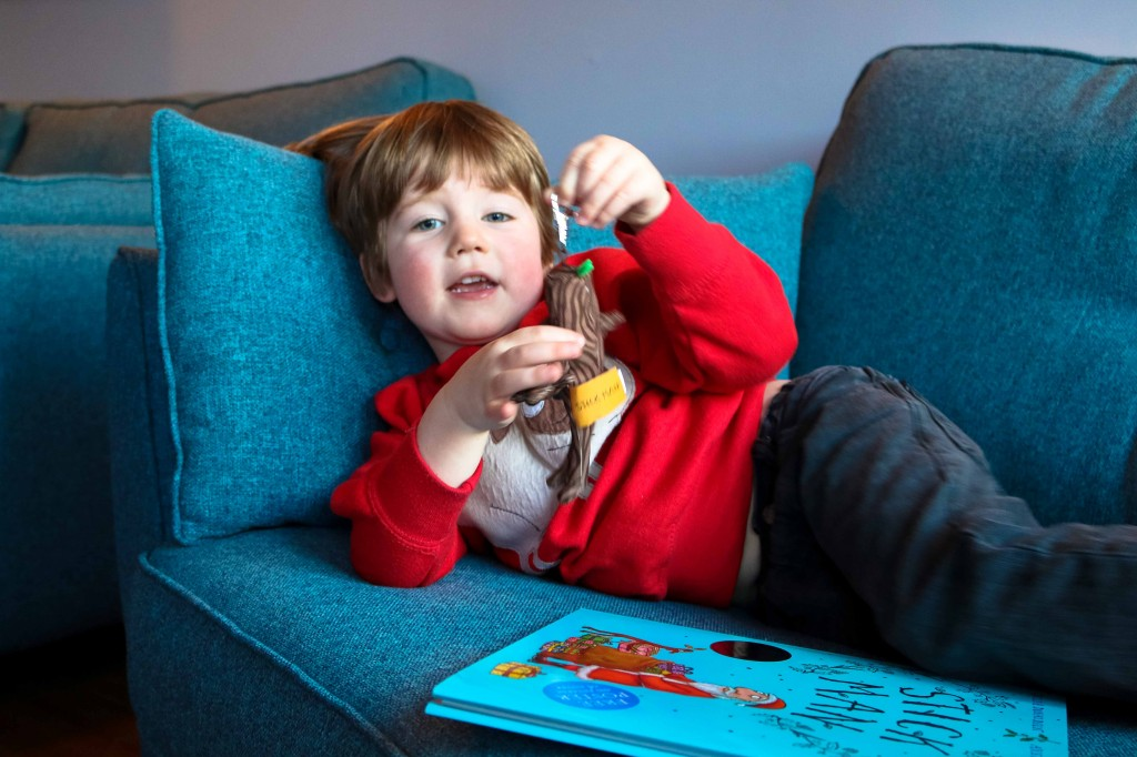 Stick Man on DVD - enjoying this children's story by Julia Donaldson and Alex Scheffler brought to life