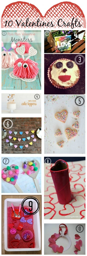 My Funny Valentines - Crafts for little ones