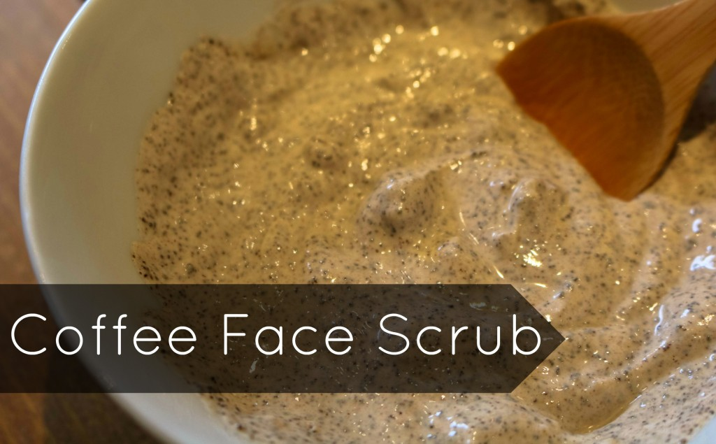 Scrub up with this homemade, organic coffee face scrub!